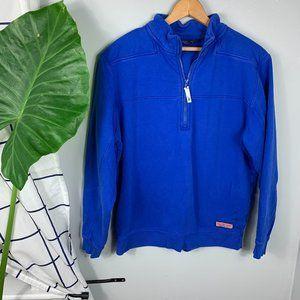 Vineyard Vines 1/4 Zip Pullover Blue Size M